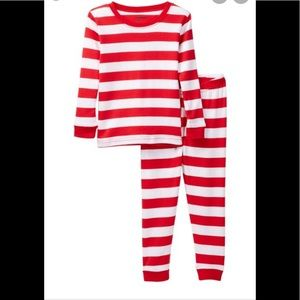 Leveret Boy's Candy Cane Pajamas Size 8 or 12 NEW